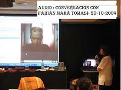 AUDIO : Conversación con Fabián María Tomasi