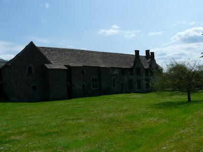 Tretower Court - west frontage