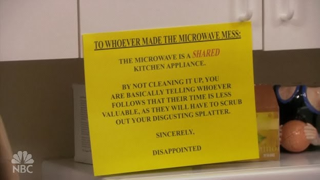Image result for the office microwave