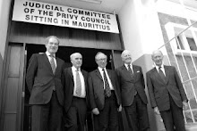 The Judicial Committee sitting in Mauritius