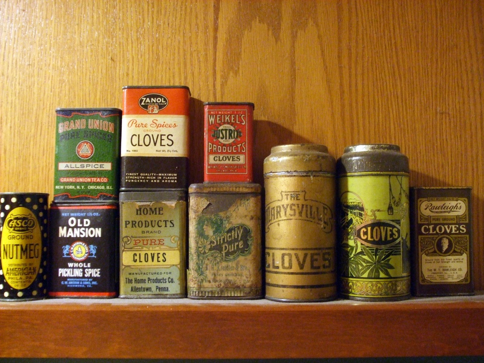 rosemary 39 s sampler old spice tins