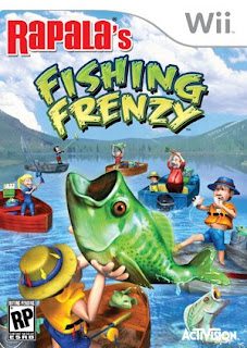 Rapala's Fishing Frenzy 2009 Nintendo Wii Box Art