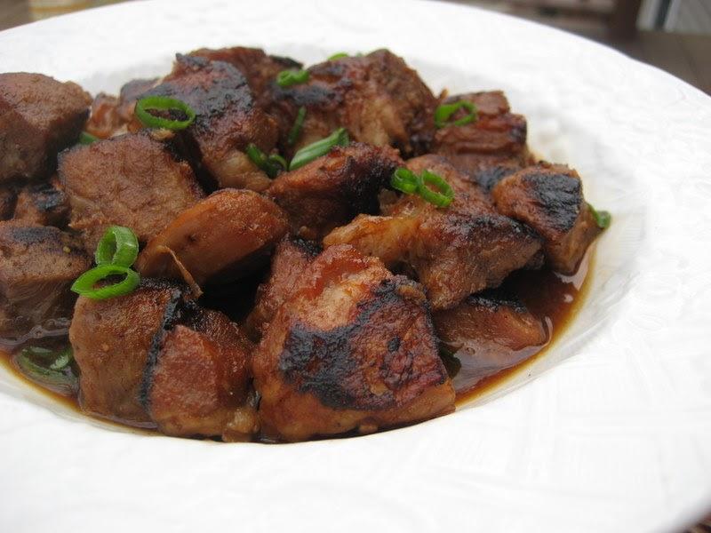 Big Bold Beautiful Food Filipino Pork Adobo Barbecue