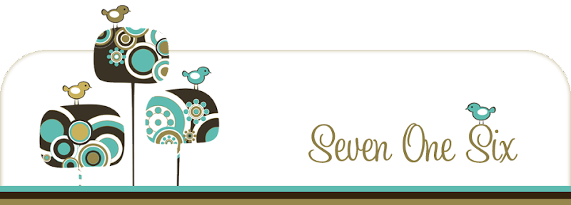 Seven One Six Blog Design