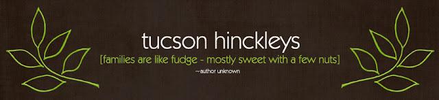 Tucson Hinckley Blog Design