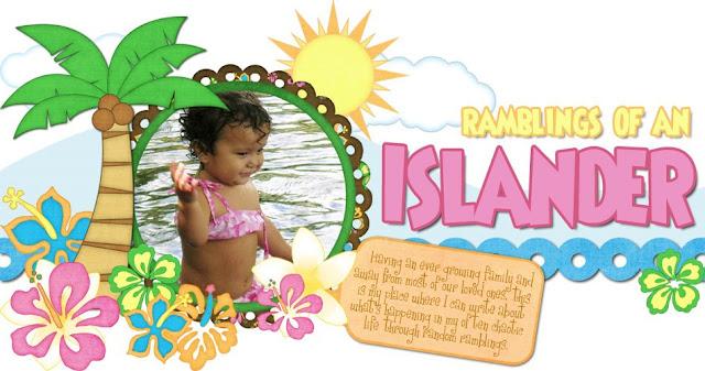 Ramblings of an Islander Blog Design