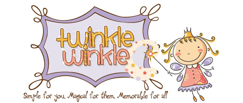 Twinkle Winkle Parties Blog Design