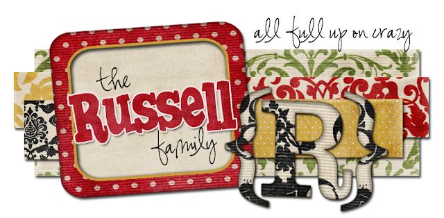 Russell Family Blog Design