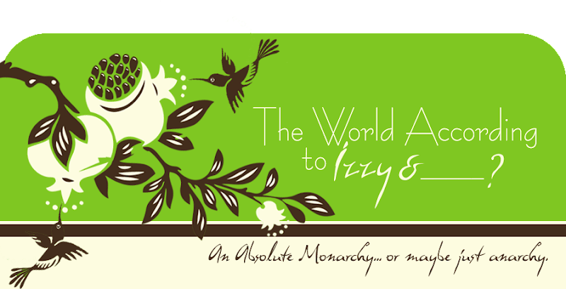 The World According to Izzy Blog Design