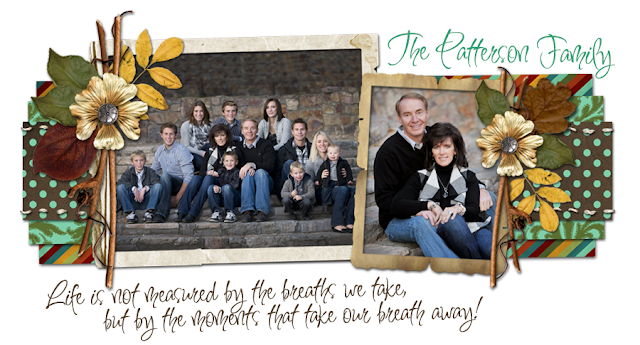 Patterson Family Again Blog Design
