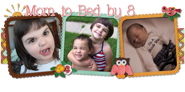 Mom to Bed by 8 Blog Design