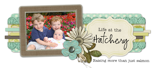 Life at the Hatchery Blog Design