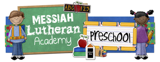 Messiah Lutheran Academy Blog Design