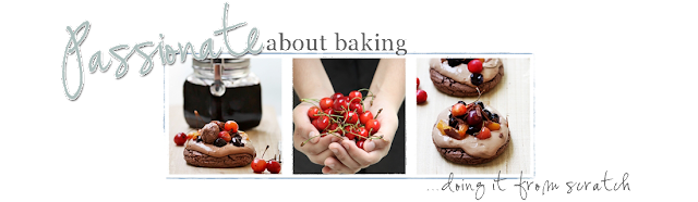 Passionate About Baking Blog Design