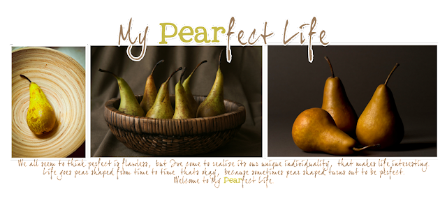 My Pearfect Life Blog Design
