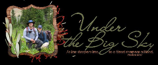 Under the Big Sky Blog Design