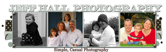 Jeff Hall Photography Blog Design