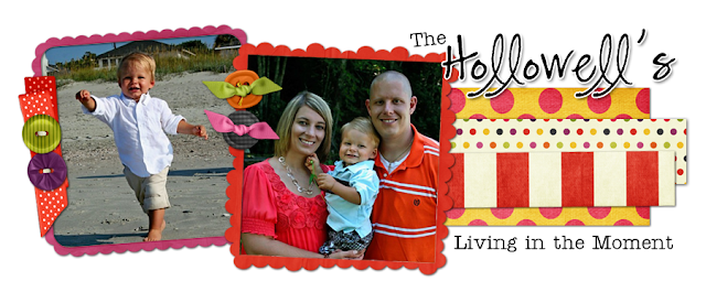 The Hollowell's Blog Design