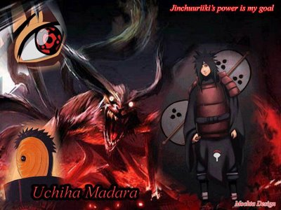 uchiha madara vs naruto 