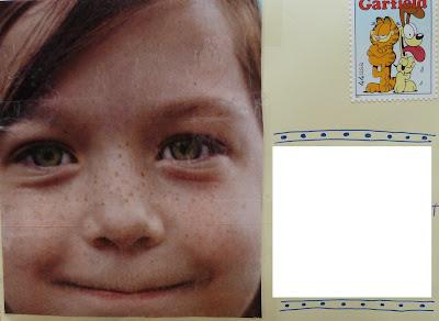 Freckle Mail Art