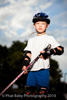 Baby Photography Hockey