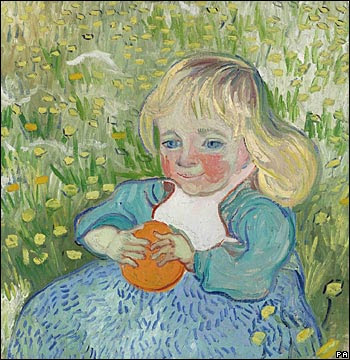 ����� ���� �������� ������ ���� van Gogh... the child with an orange.jpg