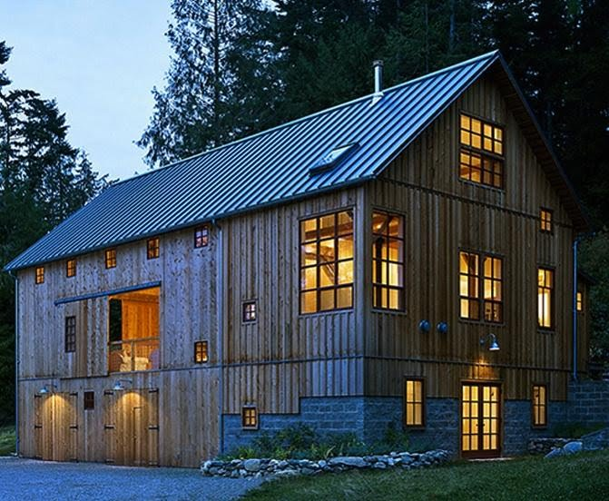 Cool pole barn homes joy studio design gallery best design for Converting a pole barn into living space
