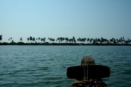 travelling by Boat to Mattu Beach