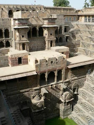 Chand Baori Top view Image