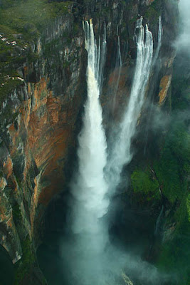 World Tallest Waterfall is Angel Falls in Venezzuela