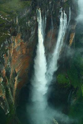 World Tallest Waterfall is Angel Falls in Venezzuela