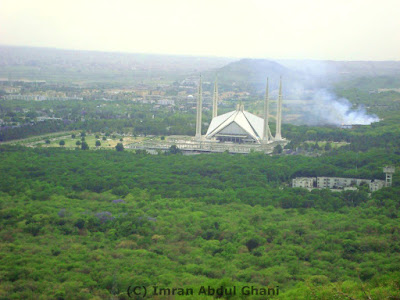 Beautiful Faisal Mosque Image