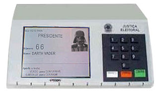 Eleições 2010 Darth Vader