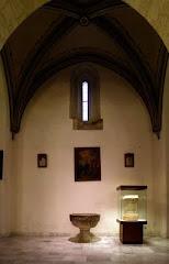 Pila bautismal s. XVI Iglesia Mayor de Santa María de la Encarnación