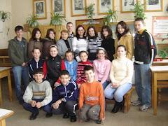 Participanţii la Concursul de limba şi literatura română - Topliţa, 23 februarie 2008