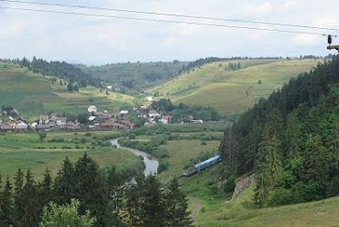 Valea Muresului, la Subcetate