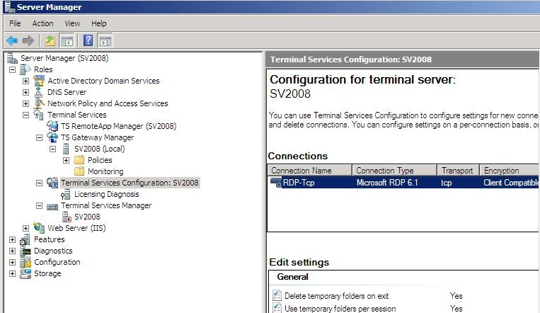 Windows terminal services network level authentication