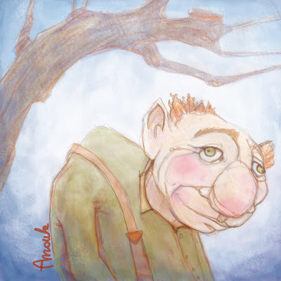 As-tu vu mon nez?? dans Rêves et désirs d'enfants vi-bossu4