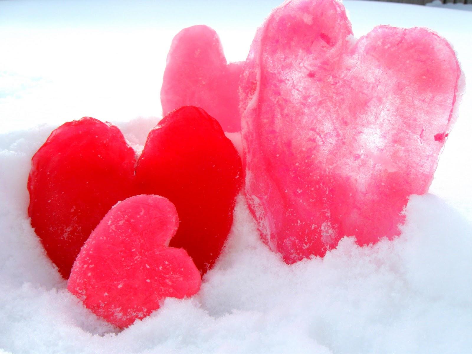 Как сделать сердце изо льда