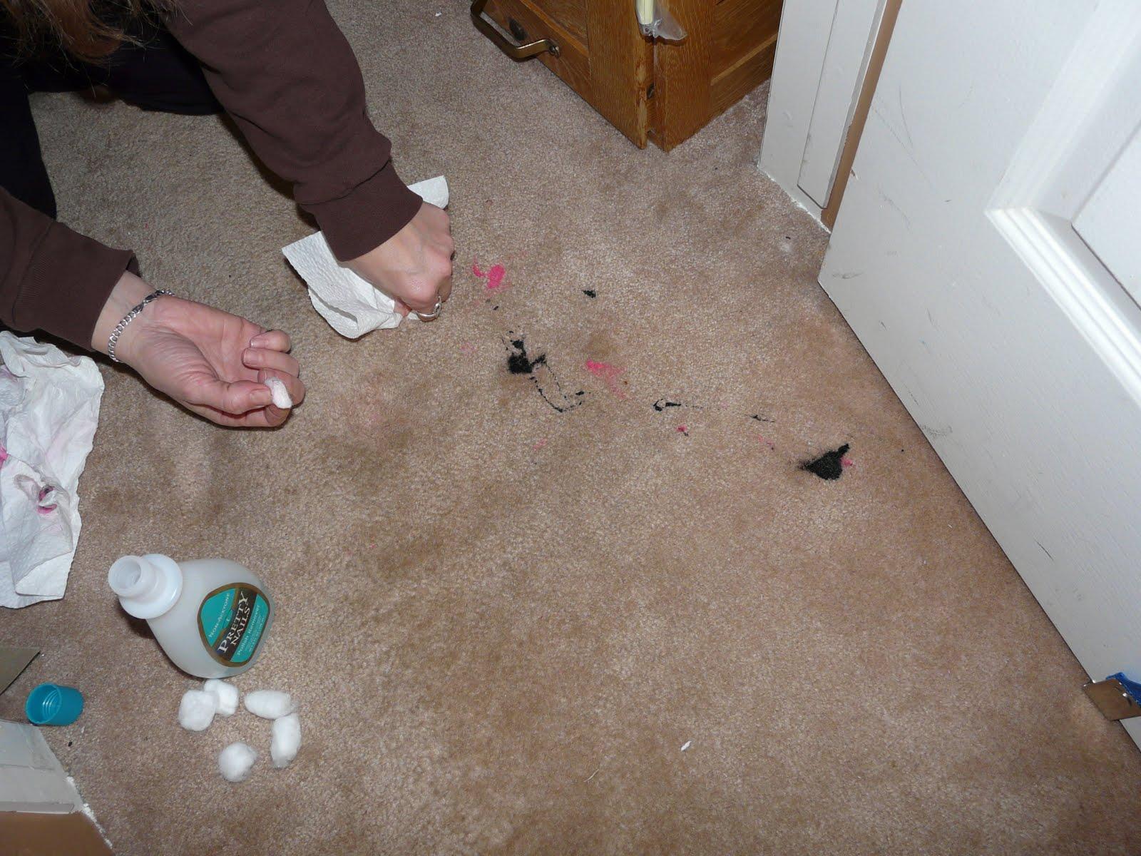 Removing dried nail polish from carpet - Cleaning Nail Polish Off Wool Carpet