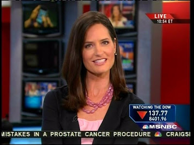Contessa Brewer is an American news anchor, and currently working for MSNBC.