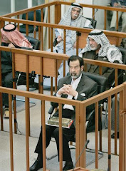 Saddam Hussein prosecuted at the Iraqi High Criminal Court