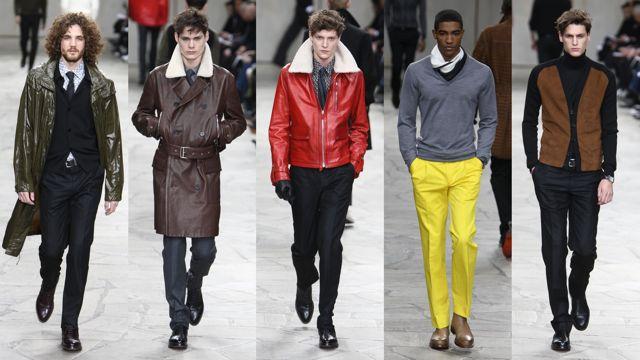 hermes runway men