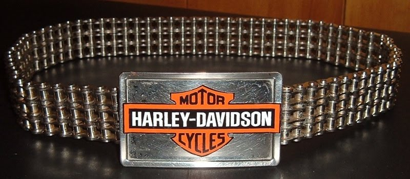 Harley Davidson Motorcycle Chain Bracelet