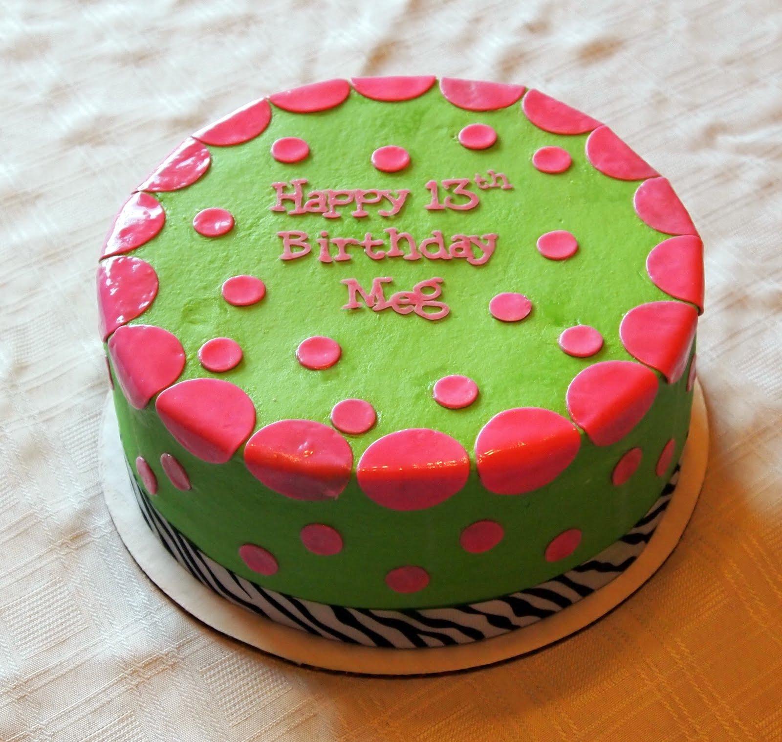 Becky Kelly Cakes Zebra Print Birthday Cake