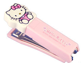 Hello Kitty stapler, pink