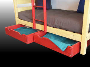under bed storage boxes, wood