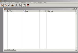 empty e-mail in-box