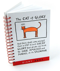 Edward Monkton cat of glory 2007 diary