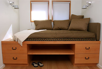 built-in daybed